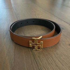 Tori Burch Leather Reversible Belt